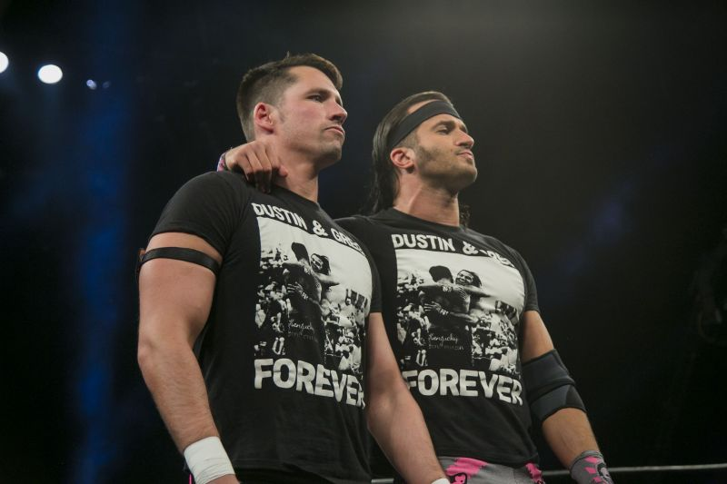Best Friends have plenty of experience with the Young Bucks and the Elite.