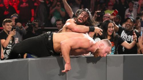 Seth Rollins and Dean Ambrose will face off once again on RAW, this time in a triple threat match