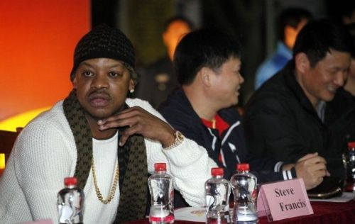 Steve Francis not long after the decline of his not so successful rap career