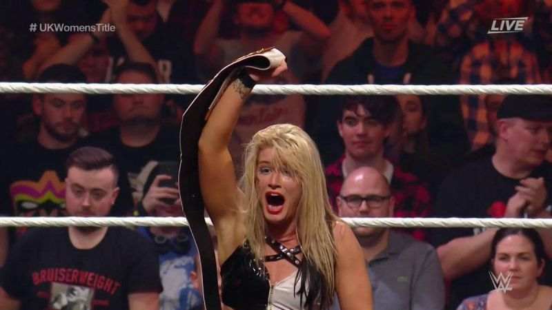 0180c0f30 WWE UK News  New NXT UK Women s Champion crowned at Takeover  Blackpool