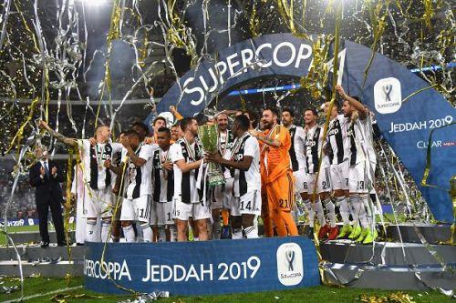 Juventus win a record 8th Italian Supercup