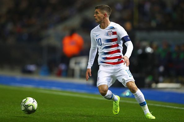 Pulisic is already the best player in the USA team