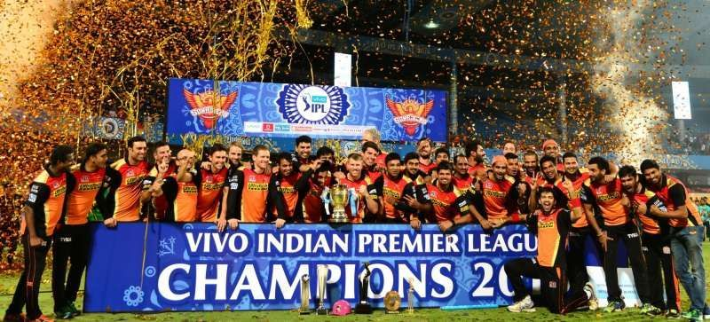 Sunrisers Hyderabad won the IPL 2016 for the first time