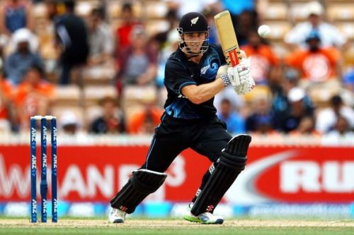 Kane Williamson was the top scorer for New Zealand with 64 runs off 81 balls.