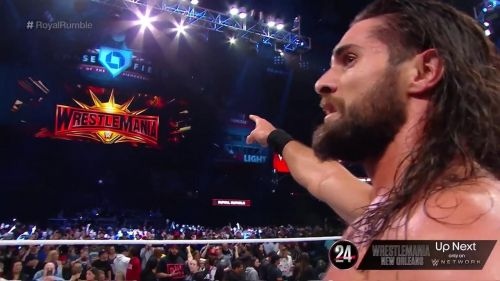 Seth Rollins won the 2019 Men's Royal Rumble match.