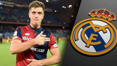 Piatek has been heavily linked with Real Madrid