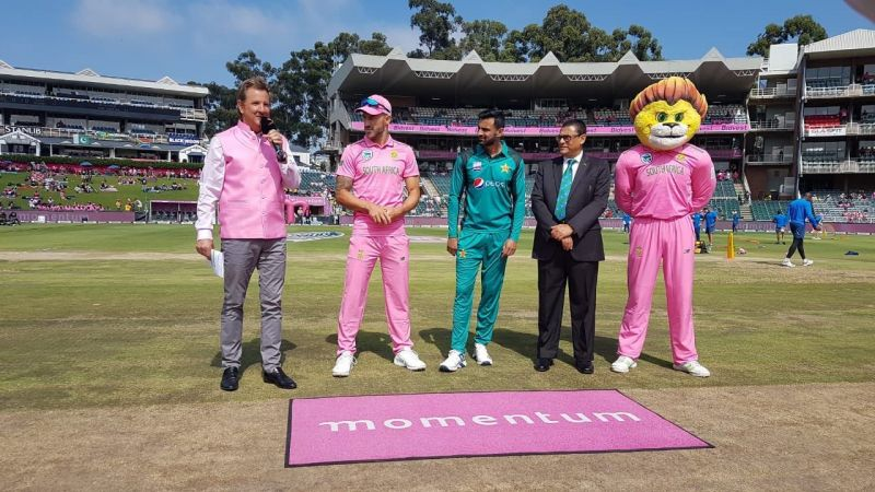Pak won the toss