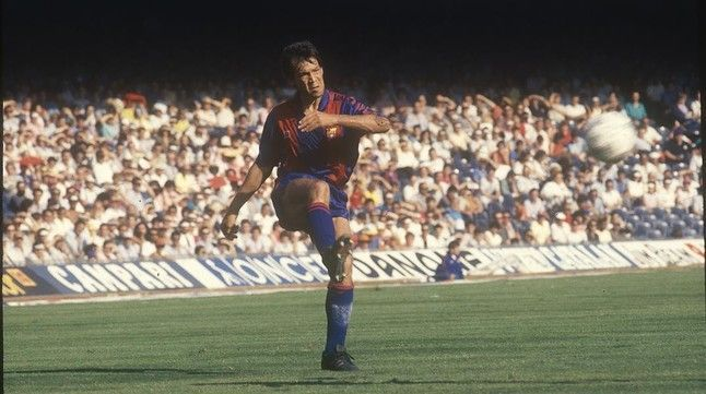 Miranda played for Barcelona from 1981 to 1988