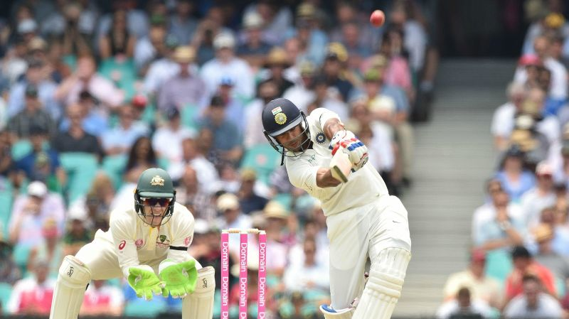 Image result for mayank agarwal batting Test cricket