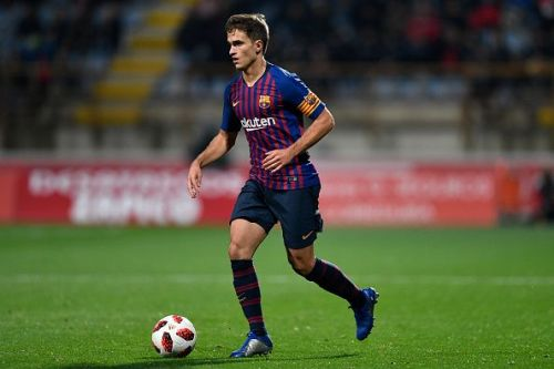 Denis Suarez captaining FC Barcelona - Spanish Copa del Rey