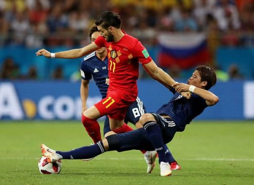 Yannick Carrasco wants to return to Europe