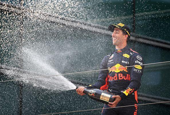 Ricciardo raced in 99 Grand Prix for Red Bull