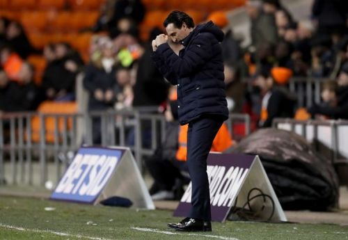 Emery's men cruised to a comfortable away win over Blackpool in their third-round FA Cup clash
