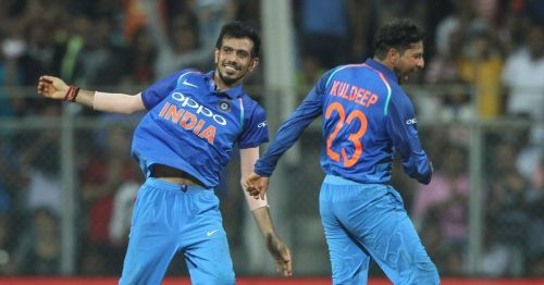 Kuldeep and Chahal have bowled well in tandem