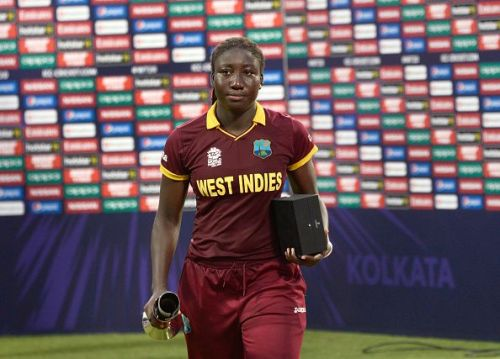 West Indies Captain, Stafanie Taylor receives player of the... : News Photo