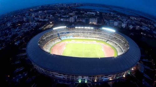 Kolkata's Salt Lake Stadium hosted the final of the 2017 FIFA U17 World Cup