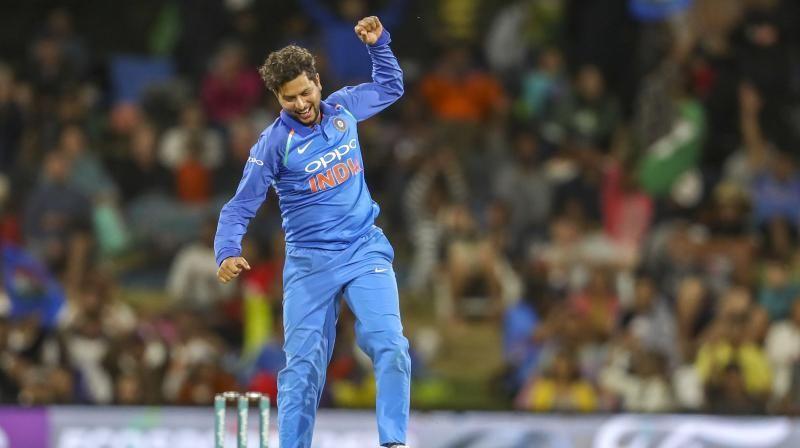 Kuldeep Yadav picked up his second consecutive 4 wickets haul.