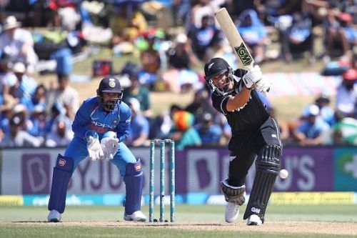 Ross Taylor against India - 3rd ODI 2019