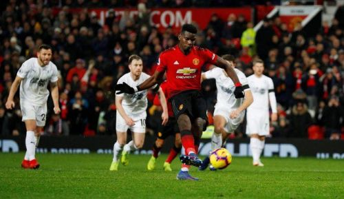 Pogba scoring from the spot