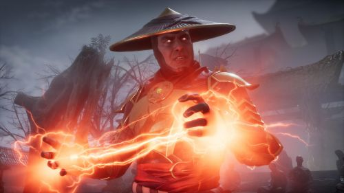 Raiden from Mortal Kombat 11