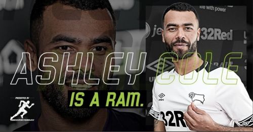 Derby County welcoming Ashley Cole on Twitter