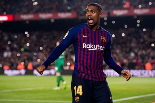 Malcom has been struggling for game time at Barcelona.