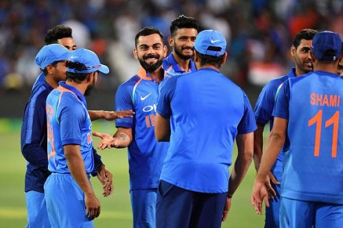 As an Indian fan, do not bother about player's lack of confidence arising from non-selection. They're just fine