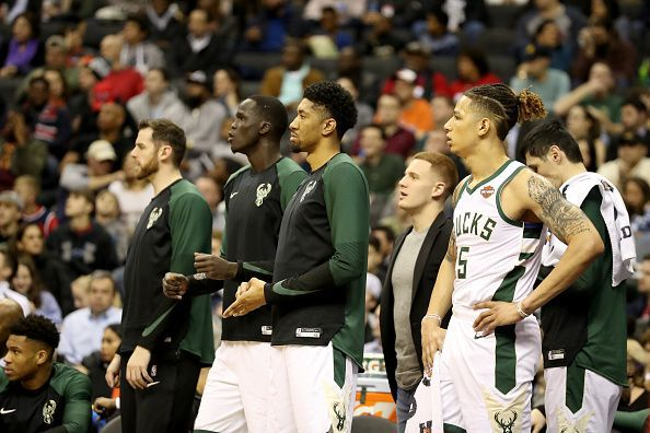 Image result for bucks starting lineup