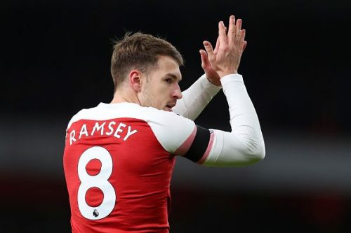 Ramsey is set to leave Arsenal for free this summer.