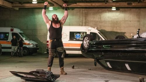 Strowman destroyed Vince McMahon's limousine last week, resulting in a hefty fine and losing his title opportunity at the Royal Rumble.