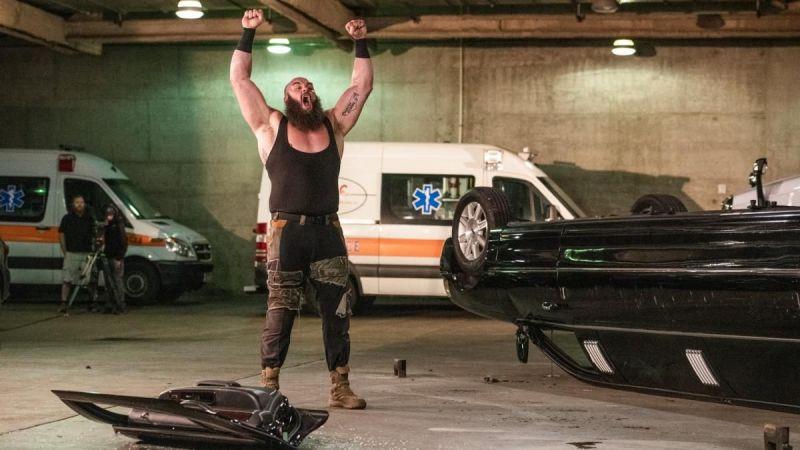 Strowman destroyed Vince McMahon