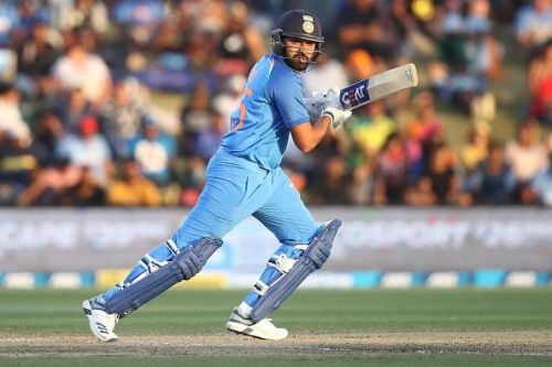 Rohit Sharma will captain the side at Hamilton