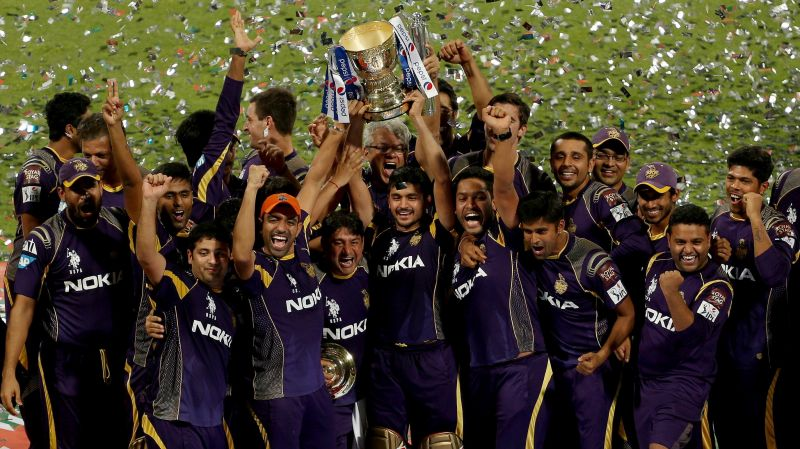Kolkata Knight Riders last won the championship in 2014