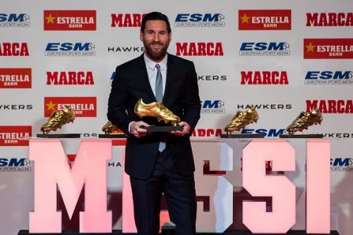 Lionel Messi is looking to further extend his Golden Shoe record