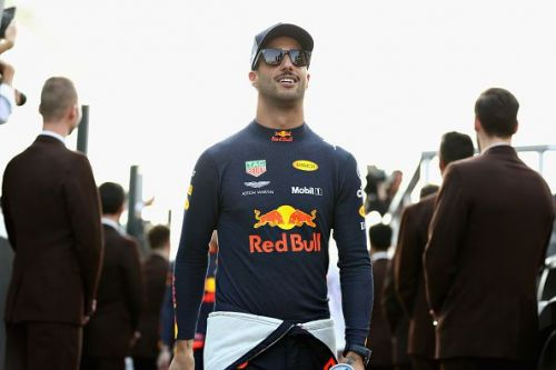 Daniel Ricciardo joined Renault F1 on a two-year contract