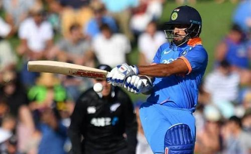 Shikhar Dhawan's75 in the first ODI helped India register their first win
