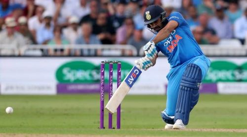 Rohit Sharma almost won India the match in the series opener
