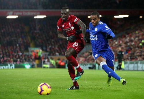 Mane scored the first goal of the match but it was not enough to take the win