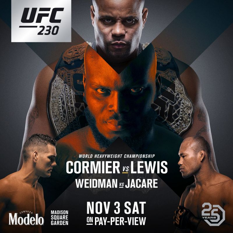 UFC 230 was headlined by two huge main events