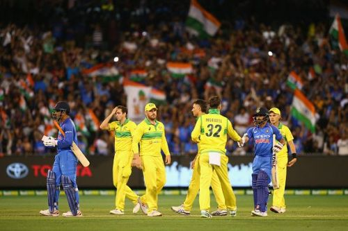 Dhoni's unbeaten 87 propelled India to a series-clinching victory at Melbourne