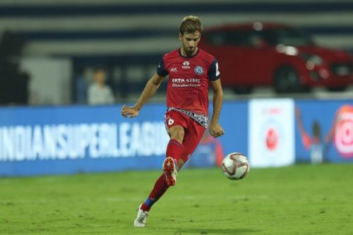 Mario Arques in action for Jamshedpur FC