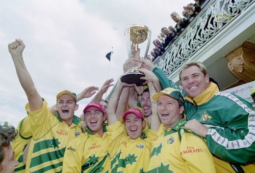 Australia won the 1999 ICC World Cup on English shores