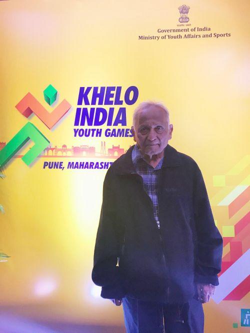 Hemant Jogdeo at Khelo India Youth Games 2019