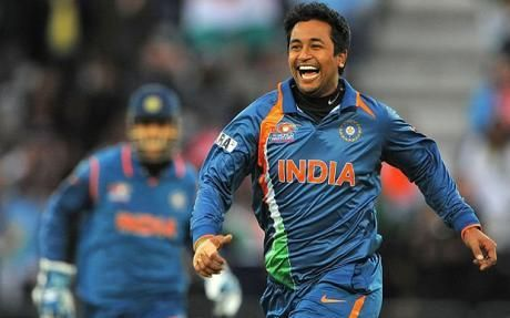 Ojha took 4 wickets in his debut T20I
