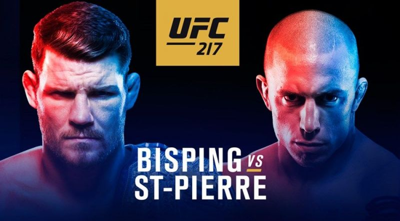 George St. Pierre challenged Michael Bisping for the Middleweight title