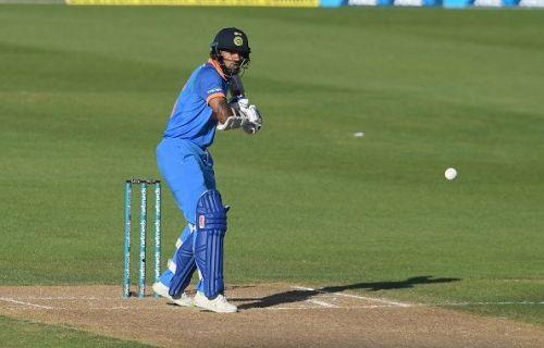 Shikhar Dhawan during Indian innings