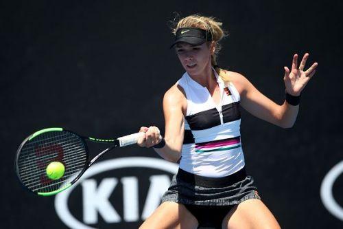 2019 Australian Open - Day 1 - Great Britain's Katie Boulter scorched 53 winners