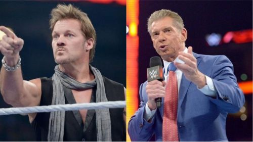 Chris Jericho was in talks with WWE before joining AEW