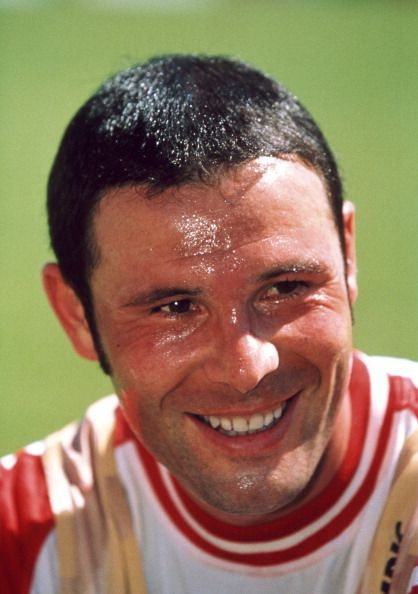 Jean-Marc Bosman, the player responsible for the Bosman ruling.