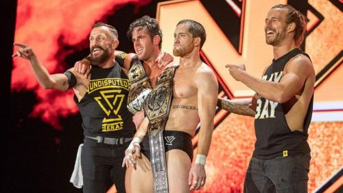 All four members of The Undisputed Era weigh 205lbs or less